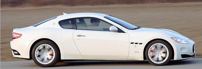 Maserati-GT-weiß image
